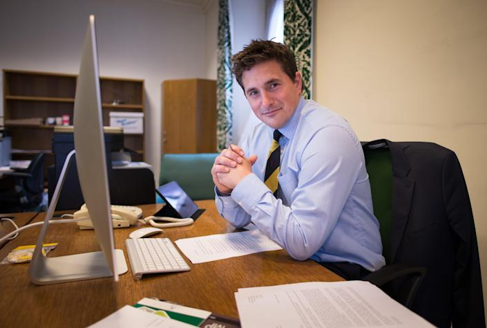 Johnny Mercer in Westminster (PA Archive)