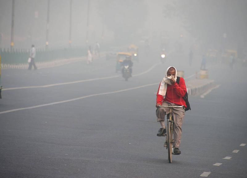 "New Delhi is currently a ""gas chamber"": Getty Images"