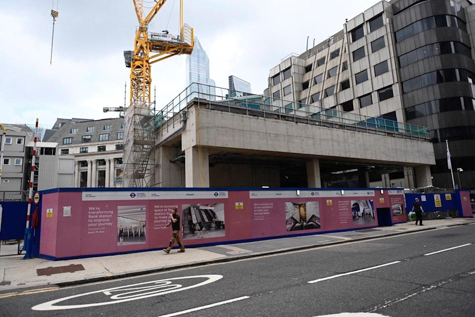 The new entrance to Bank station in Cannon Street (TfL)