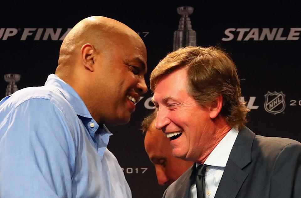 Could Wayne Gretzky become the NHL's Charles Barkley at Turner Sports? (Getty)