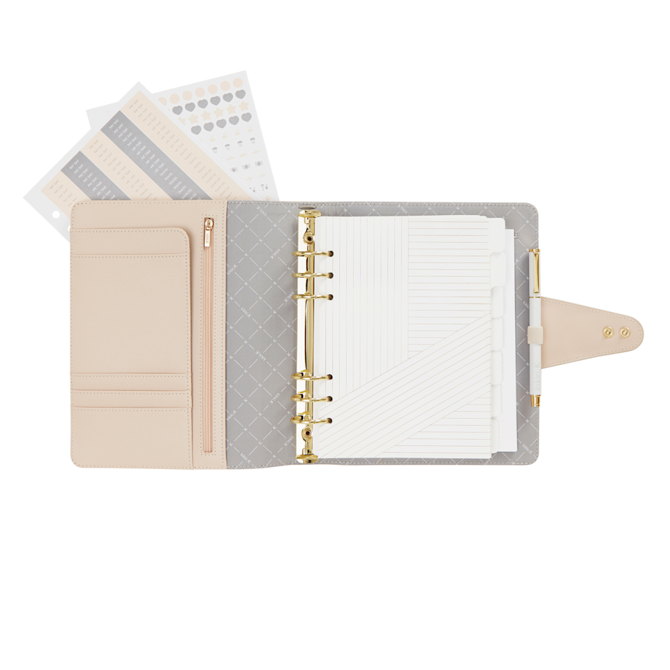 "<h3><a href=""https://www.kikki-k.com/us/shop-by/a5-leather-personal-planner-almond-signature-edition-11512801.html"" rel=""nofollow noopener"" target=""_blank"" data-ylk=""slk:Kikki.K Large Personal Planner"" class=""link rapid-noclick-resp"">Kikki.K Large Personal Planner</a></h3><br><br><strong>Kikki-K</strong> LARGE LEATHER-FREE PERSONAL PLANNER, $, available at <a href=""https://go.skimresources.com/?id=30283X879131&url=https%3A%2F%2Fwww.kikki-k.com%2Fus%2Fplanners%2Fleather-free-personal-planner-large-woodland-11223001.html"" rel=""nofollow noopener"" target=""_blank"" data-ylk=""slk:Kikki-K"" class=""link rapid-noclick-resp"">Kikki-K</a>"