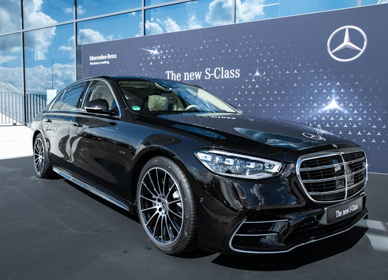 Presentation of the new Mercedes-Benz S-Class (Photo: Silas Stein / picture alliance via Getty Images)