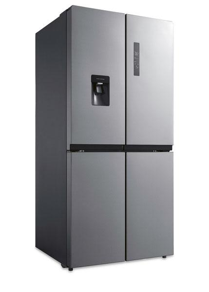 The French Door Fridge ($879) is one of two products that are part of Aldi's limited trial of online exclusive Special Buys. Photo: supplied.