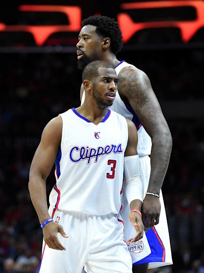 Chris Paul was part of the group of Clippers players to meet with Jordan in Houston. (Getty Images)