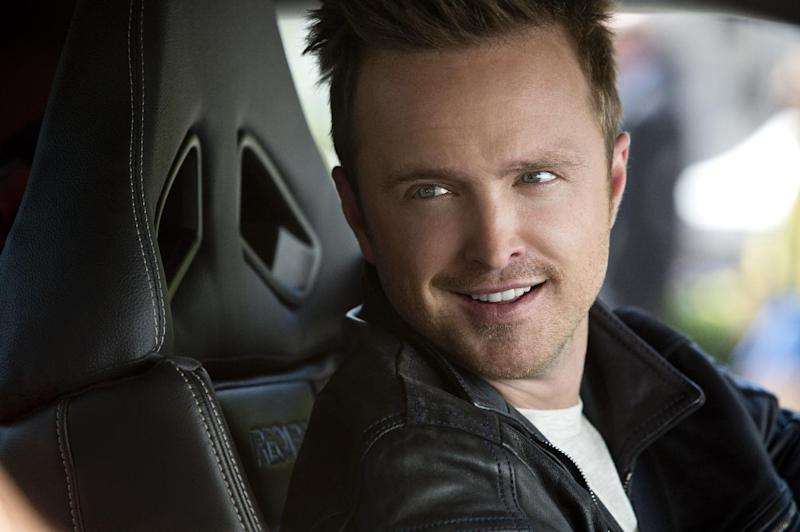 """This image released by DreamWorks II shows Aaron Paul in a scene from """"Need for Speed."""" (AP Photo/DreamWorks II, Melinda Sue Gordon)"""