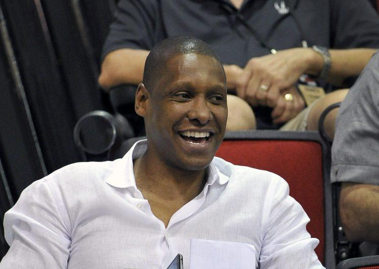 Masai Ujiri has had a successful stint with the Raptors. (AP)