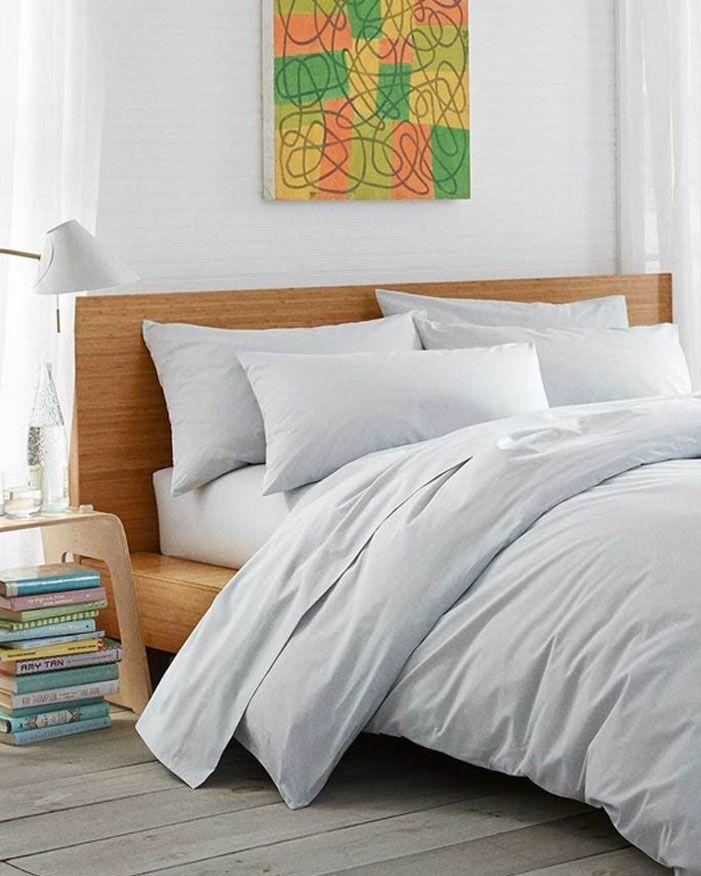 """<p><strong>Brooklinen</strong></p><p>brooklinen.com</p><p><strong>$139.00</strong></p><p><a href=""""https://go.redirectingat.com?id=74968X1596630&url=https%3A%2F%2Fwww.brooklinen.com%2Fproducts%2Fluxe-core-sheet-set&sref=https%3A%2F%2Fwww.goodhousekeeping.com%2Fhome-products%2Fbest-sheets%2Fg25954307%2Fbest-cotton-sheets%2F"""" rel=""""nofollow noopener"""" target=""""_blank"""" data-ylk=""""slk:Shop Now"""" class=""""link rapid-noclick-resp"""">Shop Now</a></p><p>This set earned the top spot thanks to its <strong>overall fabric quality and stress-free features</strong>. For starters, the smooth fabric was strong, pill-resistant, and laundered well in our wash tests. On top of that, the fitted sheet is labeled with """"long side"""" and """"short side"""" tabs so bed-making is a whole lot easier. It also has thousands of five-star reviews online from real users who swear by it. </p>"""