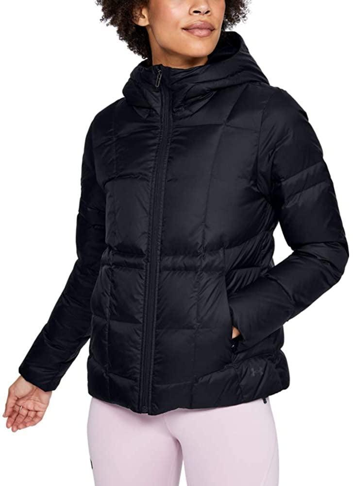 <p>If you live in a cold climate, get this <span>Under Armour Down Hooded Jacket</span> ($150).</p>