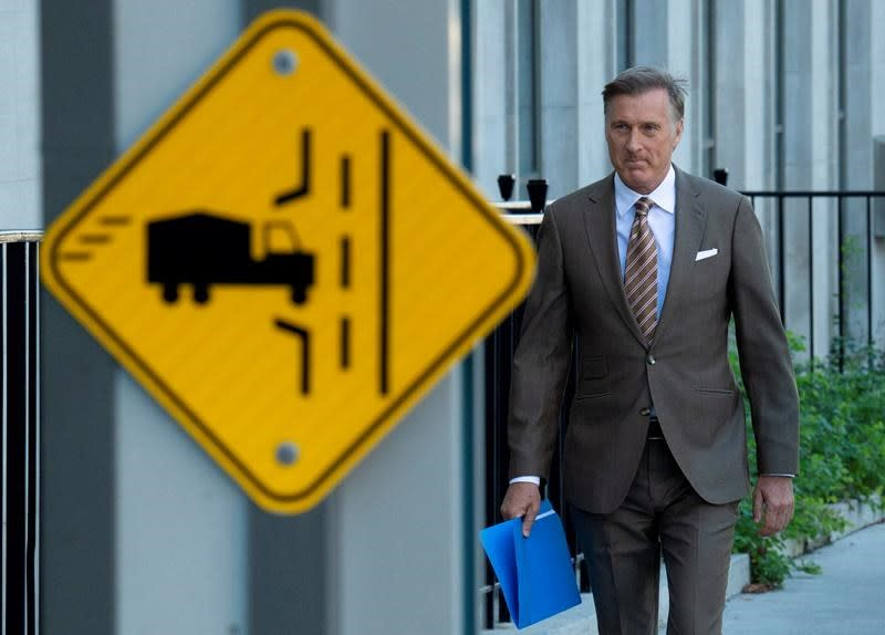 Maverick MP Maxime Bernier says racists have no place in his party