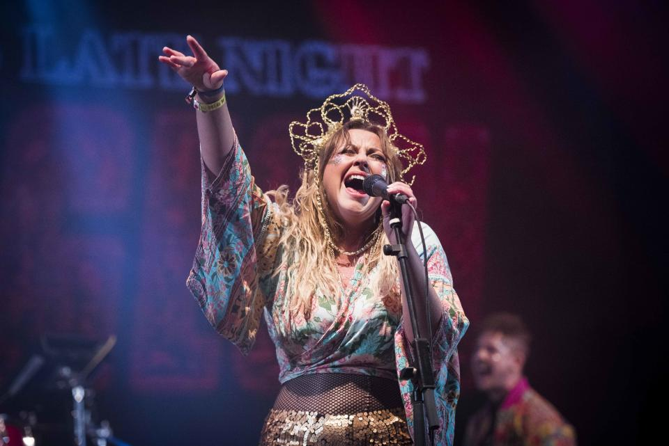 Charlotte Church performs her Late Night Pop Dungeon live at Bestival 2017 at Lulworth Castle - Wareham. Picture date: Saturday 9th September 2017. Photo credit should read: David Jensen/EMPICS Entertainment