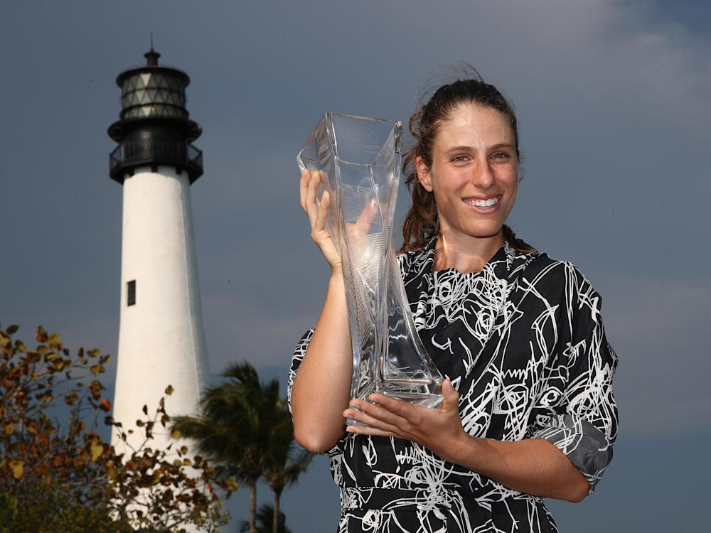 Konta's win in Miami is the biggest of her career: Getty