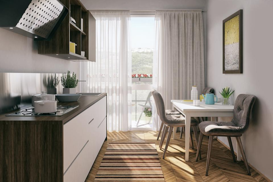 "<h1 class=""title"">Small kitchen with dining table</h1> <div class=""caption""> A shoot of a small kitchen with dining table. Render image. </div> <cite class=""credit"">Aleksandra Zlatkovic</cite>"