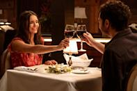 """<p>Starring Darren Barnet and <a class=""""link rapid-noclick-resp"""" href=""""https://www.popsugar.co.uk/Nina-Dobrev"""" rel=""""nofollow noopener"""" target=""""_blank"""" data-ylk=""""slk:Nina Dobrev"""">Nina Dobrev</a>, this holiday rom-com follows a young woman from LA who travels to her hometown to meet up with a dating app match for Christmas, only to discover she's been catfished. Luckily, the catfish knows her old crush, and he promises to set her up with him . . . if she pretends to be his girlfriend for the holidays, that is. </p> <p><strong>When it's available: </strong><a href=""""http://www.netflix.com/title/81086631"""" class=""""link rapid-noclick-resp"""" rel=""""nofollow noopener"""" target=""""_blank"""" data-ylk=""""slk:Nov. 5"""">Nov. 5</a></p>"""