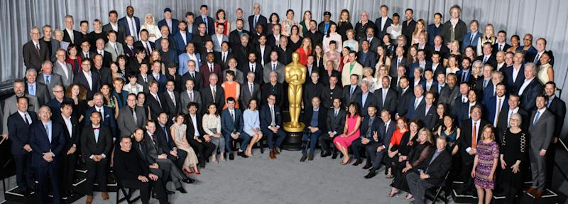 Nominees for the 91st Annual Academy Awards were celebrated at a luncheon held at the Beverly Hilton, Monday, February 4, 2019. (Click for larger photo.)