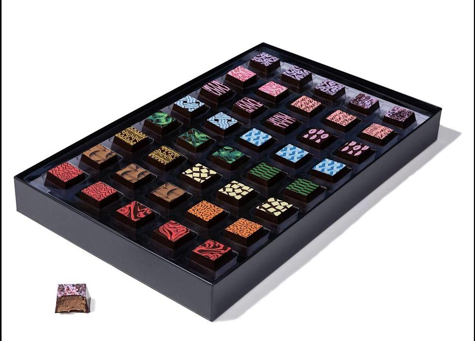 """<p>compartes.com</p><p><strong>$89.95</strong></p><p><a href=""""https://compartes.com/collections/mothers-day-gourmet-chocolates/products/luxury-gourmet-chocolate-gift-box"""" rel=""""nofollow noopener"""" target=""""_blank"""" data-ylk=""""slk:Shop Now"""" class=""""link rapid-noclick-resp"""">Shop Now</a></p><p>When in doubt go for some <a href=""""https://www.townandcountrymag.com/leisure/dining/g34934934/best-boxed-chocolates/"""" rel=""""nofollow noopener"""" target=""""_blank"""" data-ylk=""""slk:ultra-luxe and creative chocolates"""" class=""""link rapid-noclick-resp"""">ultra-luxe and creative chocolates</a>. You can't go wrong there. </p>"""