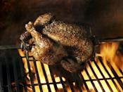 """<p>Do you hear that? It's the sound of sweet, sweet chicken. Each time you hear a <a href=""""https://www.thelist.com/371844/the-secret-meaning-behind-the-bell-ringing-in-costco/"""" rel=""""nofollow noopener"""" target=""""_blank"""" data-ylk=""""slk:bell go off"""" class=""""link rapid-noclick-resp"""">bell go off</a> inside a Costco store, it means that a fresh batch of rotisserie chicken was just stocked. </p>"""