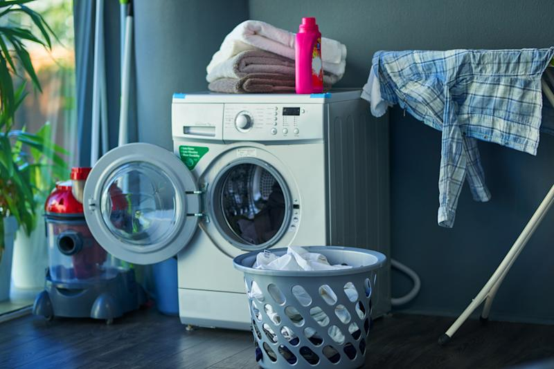 Laundry Machine in Home