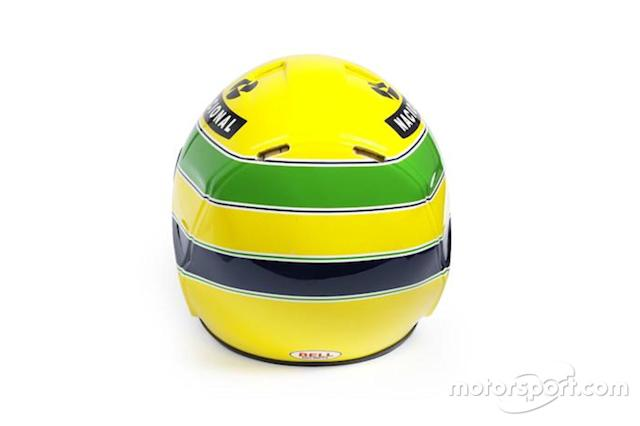 "Capacete de 1994 de Senna, da época da Williams <span class=""copyright"">Bonhams </span>"