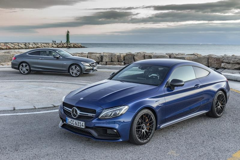 Mercedes Amg Coupe 2017 >> 2017 Mercedes-Benz C-Class Coupe: First Drive