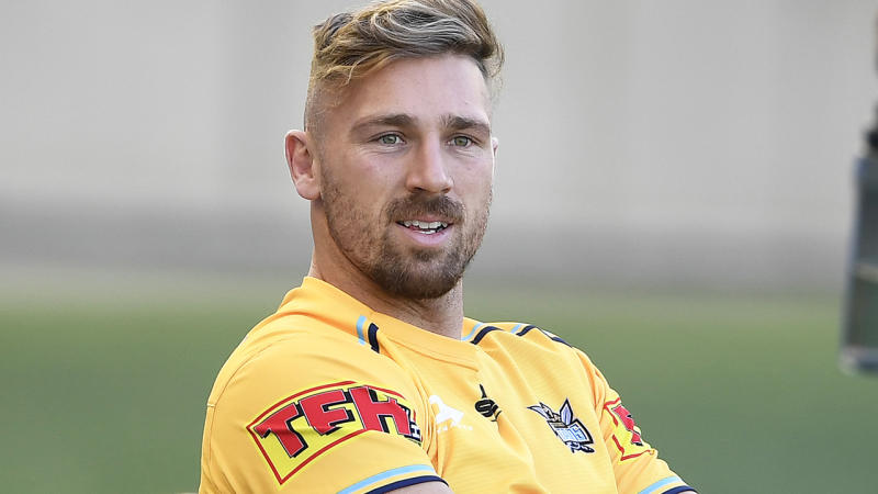 The Gold Coast Titans have released Bryce Cartwright from the final year of his contract after he was dropped from the side back in July. (Photo by Ian Hitchcock/Getty Images)