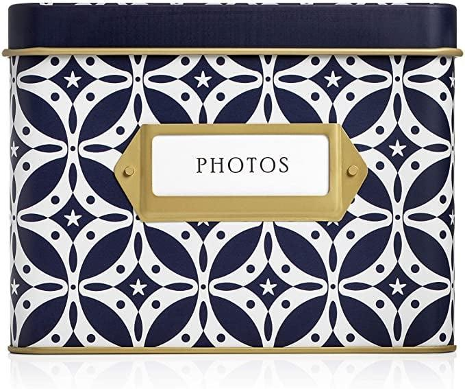 <p>This <span>Jot &amp; Mark Photo Organizer Storage Box with Tabbed Divders and Clear Sleeves</span> ($28) doubles as chic home decor.</p>