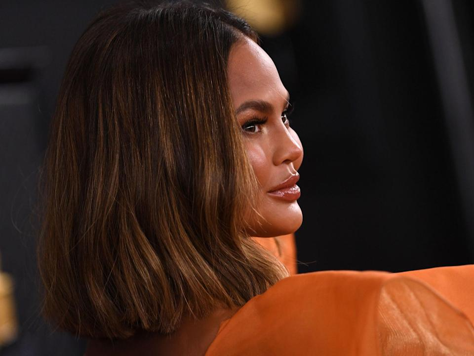 'Try as she might to be ordinary, she demonstrably isn't': Chrissy Teigen in 2020 (Valerie Macon/Getty Images)
