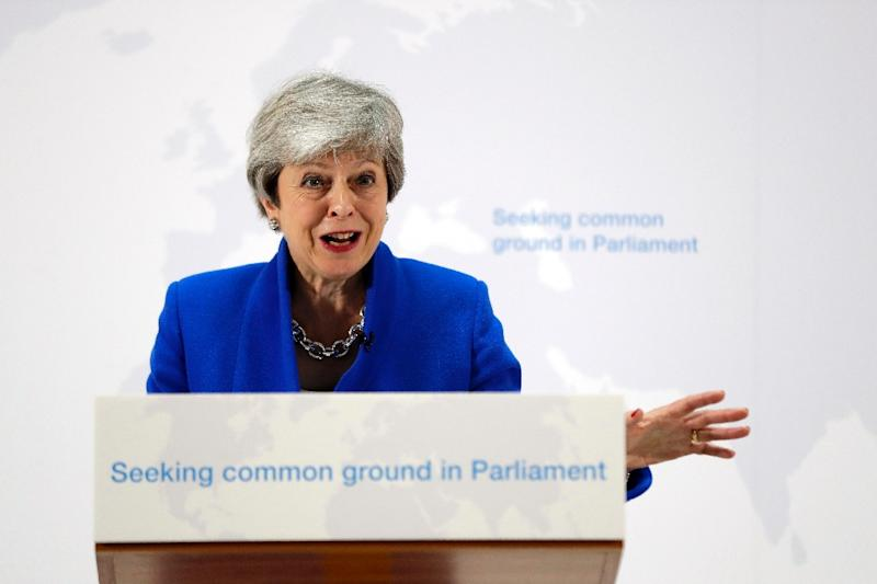 May has previously said she would step aside once a Brexit deal had been passed by parliament (AFP Photo/Kirsty Wigglesworth)