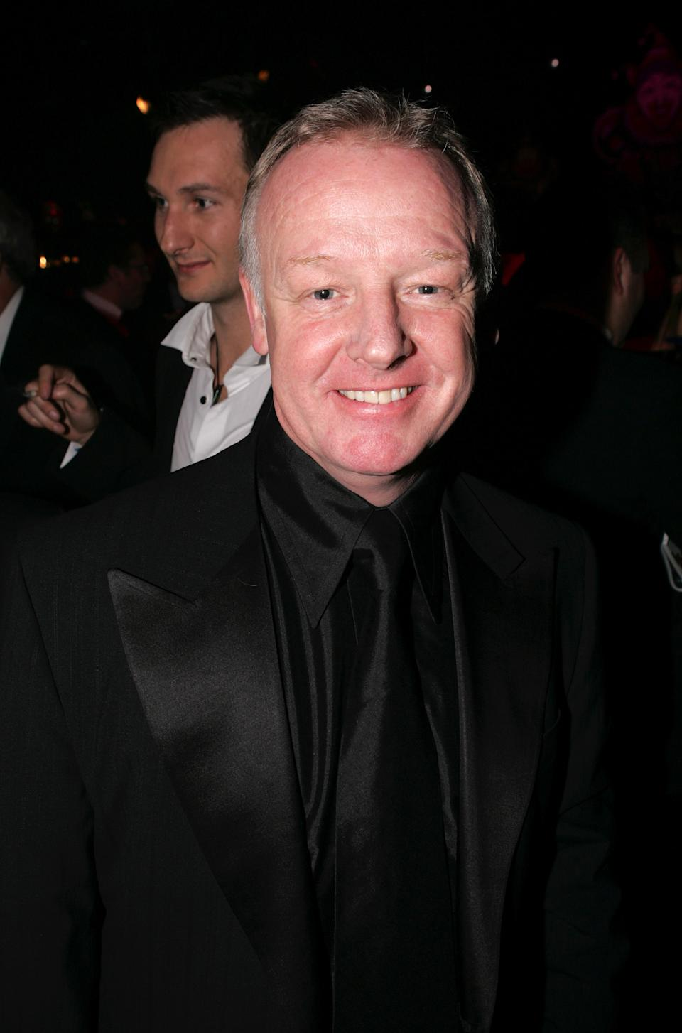 Les Dennis attends the aftershow party following the British Comedy Awards 2005 at London Television Studios on December 14, 2005 in London, England. (Photo by Dave Hogan/Getty Images)