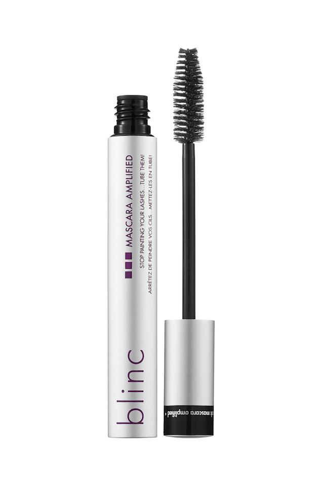 """<p>Blinc created a formula that createswaterproof """"tubes"""" around your lashesthat is both sweat-proof and smudge-proof. It's a wet formula too, meaning it won'tdry out and you canreapply throughout the day.</p><p><em>Blinc Mascara Amplified, $26; <a rel=""""nofollow"""" href=""""http://www.sephora.com/mascara-amplified-P377750?skuId=1495183&icid2=blinc_bestsellers_carousel:p377750"""">sephora.com</a></em></p>"""