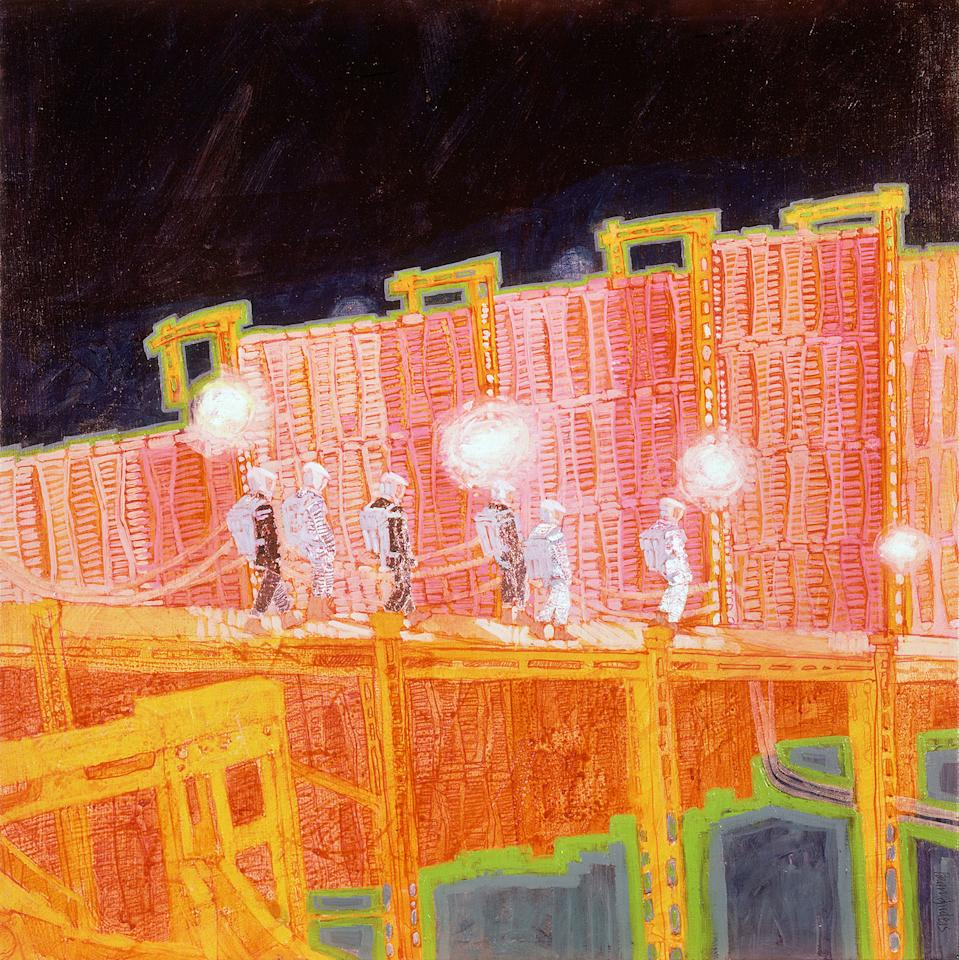 <p>Moonpit 1, '2001: A Space Odyssey' (Brian Sanders) </p>
