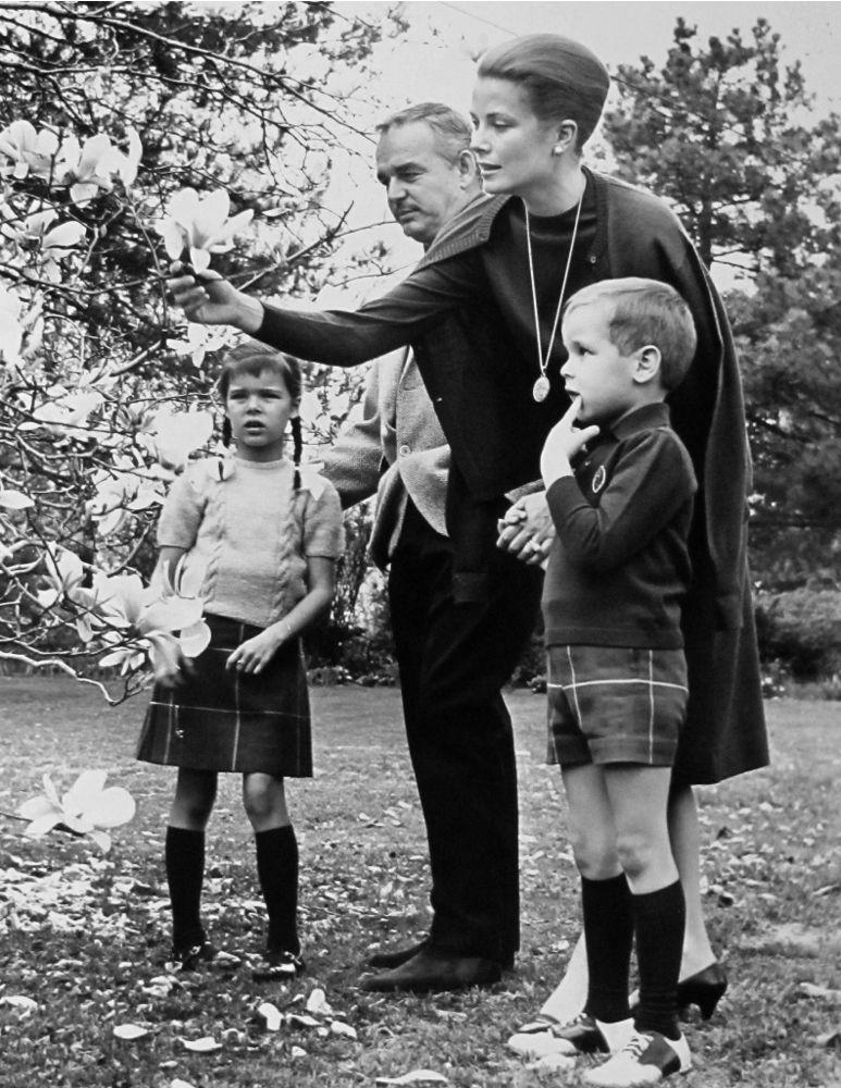 Princess Grace and family | Jack Tinney/Getty