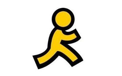 The image of the yellow running man was synonymous with AIM - Credit: AOL