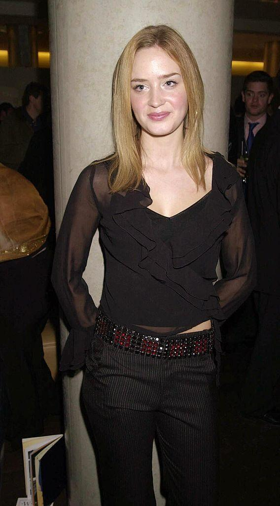 <p><strong>Taken: </strong>On the opening night of the play 'The Royal Family' at The Theatre Royal in London in 2001.</p><p><strong>Breakthrough: </strong>Portraying the uptight magazine assistant Emily in <em>The Devil Wears Prada </em>in 2006.</p>