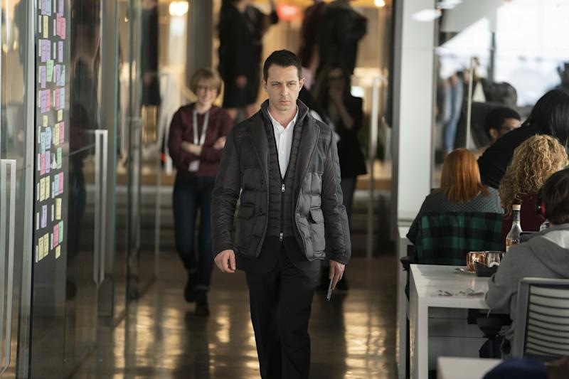 Jeremy Strong as Kendall Roy in Succession