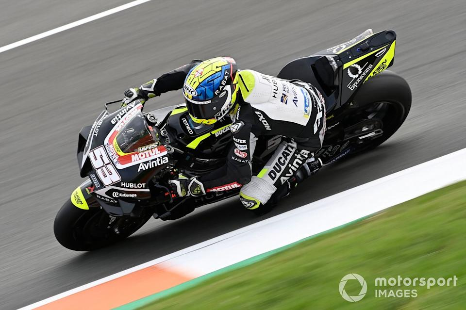 "Tito Rabat, Avintia Racing<span class=""copyright"">Gold and Goose / Motorsport Images</span>"