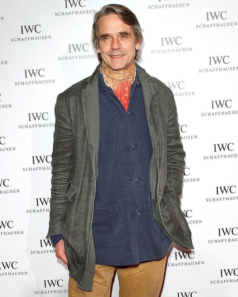 Jeremy Irons turns 64 on September 19.