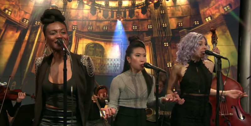 Watch 'Hadestown' Cast Perform Two Songs on 'CBS This Morning'