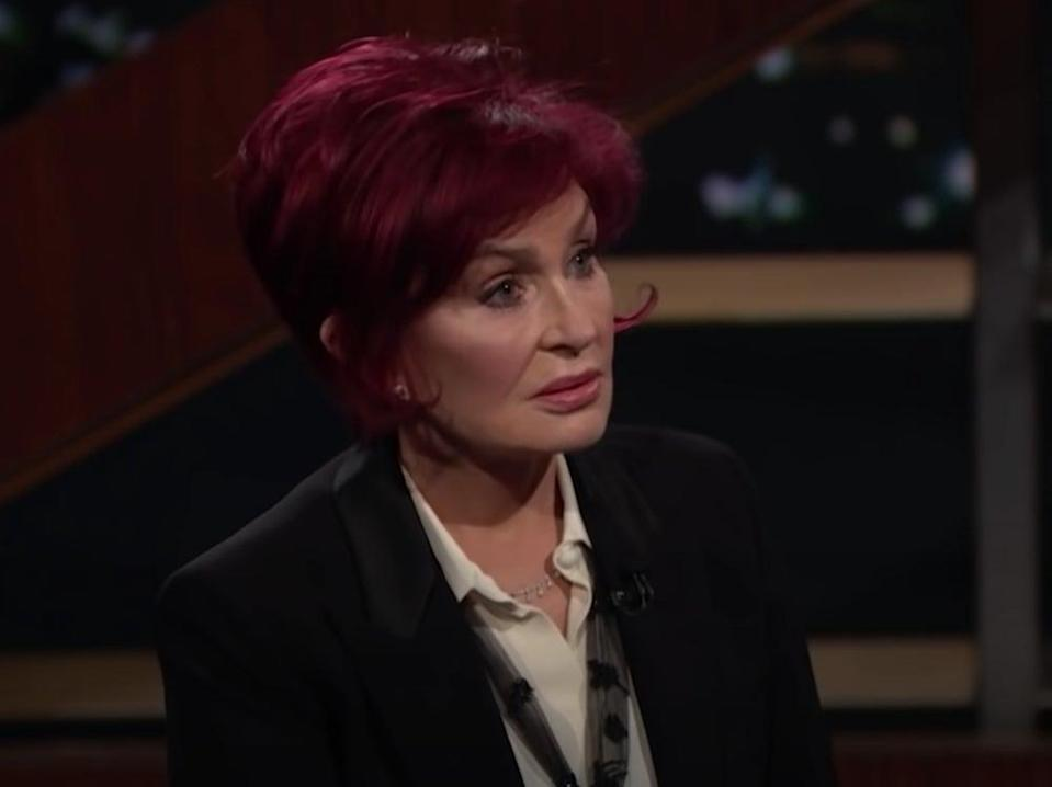 Sharon Osbourne was interviewed by Bill Maher (YouTube)