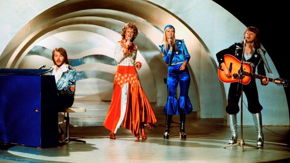 Abba won the Eurovision song contest in 1974 with their track Waterloo