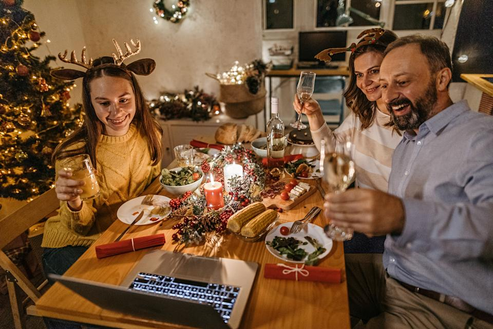 Dr Kieran Kennedy suggests continuing on with your Christmas traditions even if it's via Zoom or Facetime. Photo: Getty