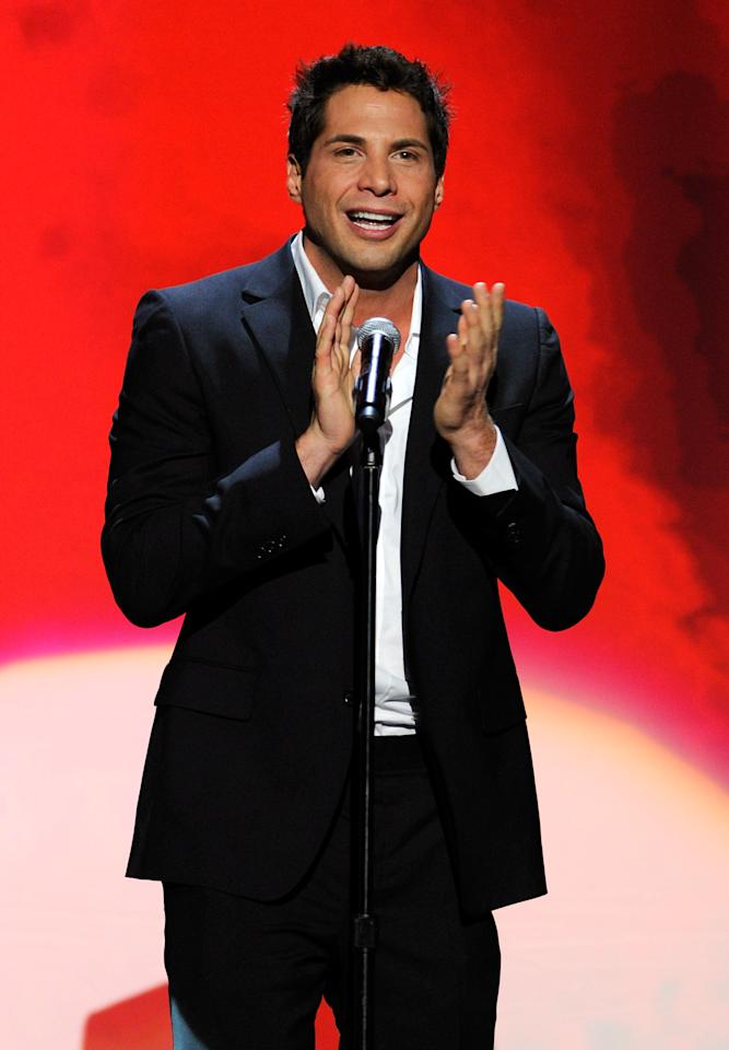 "LAS VEGAS, NV - JANUARY 21:  ""Girls Gone Wild"" founder Joe Francis presents an award during the 29th annual Adult Video News Awards Show at The Joint inside the Hard Rock Hotel & Casino January 21, 2012 in Las Vegas, Nevada.  (Photo by Ethan Miller/Getty Images)"