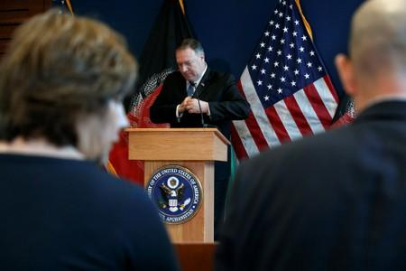 U.S. Secretary of State Mike Pompeo visits Afghanistan