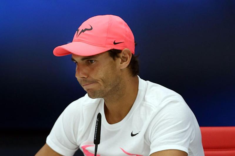 Nadal is a long-time pink lover. Photo: Getty