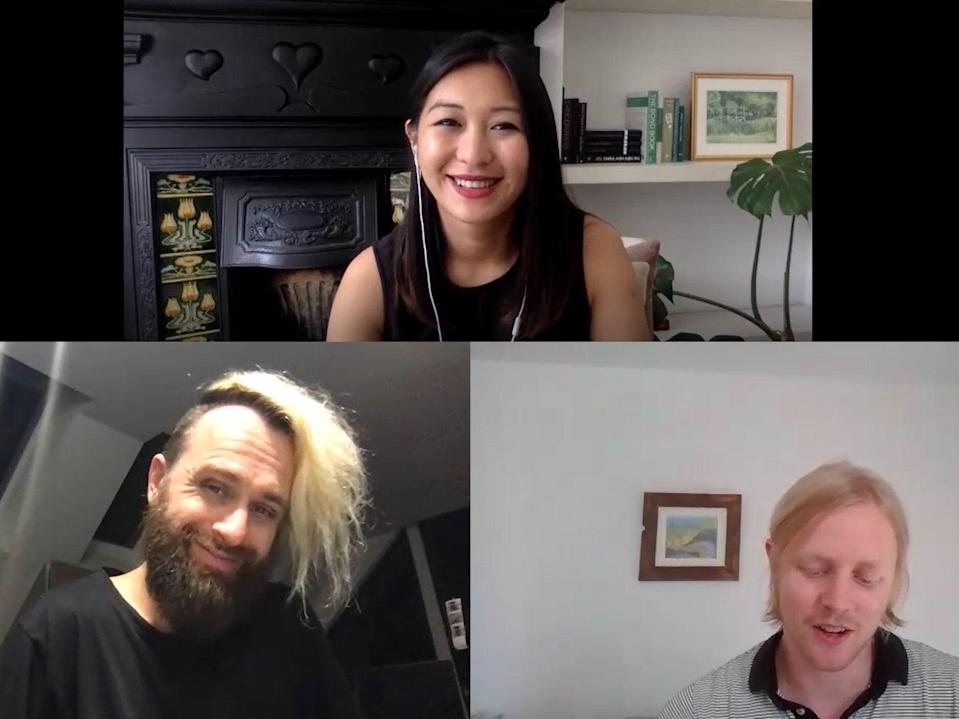 <p>Samantha Yap and Fred Schebesta join The Independent's Anthony Cuthbertson on 3 June, 2021</p> (The Independent)