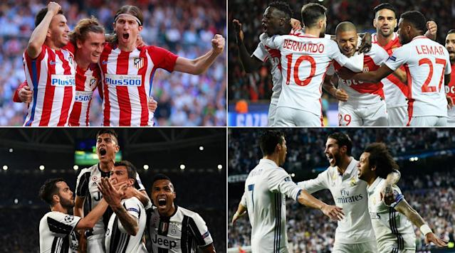 After facing off in two of the last three Champions League finals, city rivals Real Madrid and Atletico Madrid are faced with a semifinal derby.