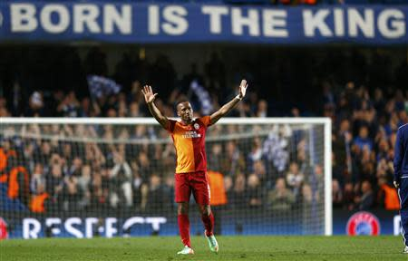The Didier Drogba lovefest that was supposed to be a Champions League match