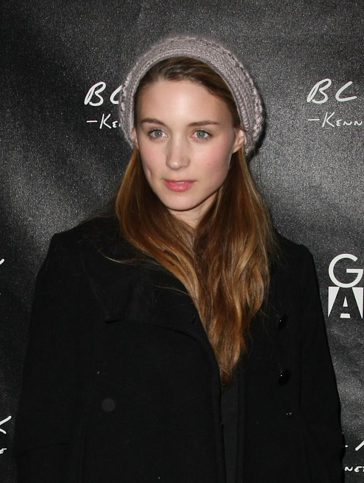 Actress Rooney Mara attends the Kenneth Cole Black & Gen Art party held at Greenhouse at The Sky Lodge during the 2009 Sundance Film Festival on January 17, 2009 in Park City, Utah. (Photo by Andrew H. Walker/Getty Images)