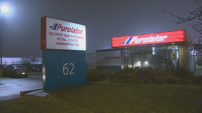 Safety concern raised at Toronto Purolator facility after worker dies