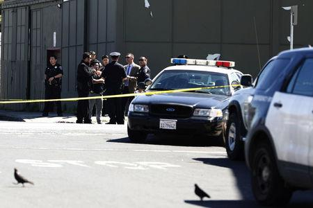Driver plows into people in San Francisco, critically wounding four