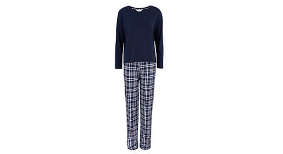 Cotton Checked Pyjama Set